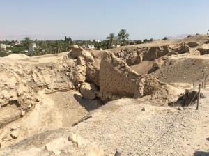 Jericho - standing wall