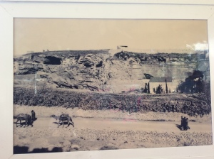 Golgotha photo from 1800s