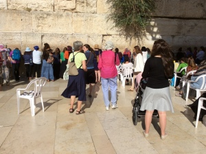 Western Wall, Women's Side