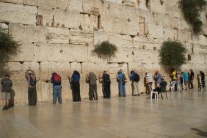 Western Wall, Men's Side